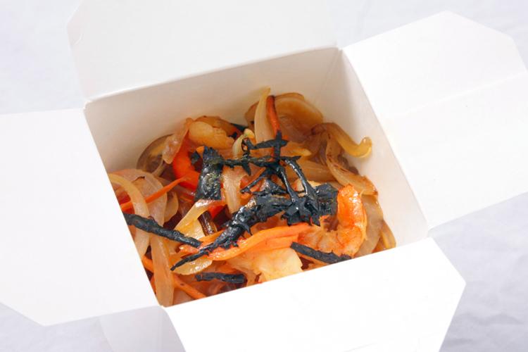 Wok харусаме, креветка, соус имбирный, 310 г