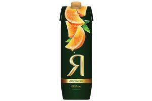 Сок Я Апельсиновый 0,97 л