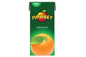Сок Привет Апельсиновый 0,95 л